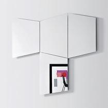 Specchio a muro / luminoso a LED / moderno / professionale