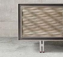 Credenza moderna / in legno / marrone / beige