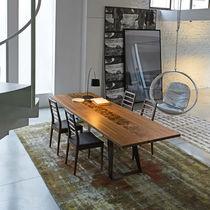 Tavolo rettangolare / da interno / moderno / in noce