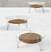 Tavolino basso / rotondo / da interno / moderno