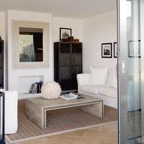 Tavolino basso moderno / in legno / rettangolare / da interno