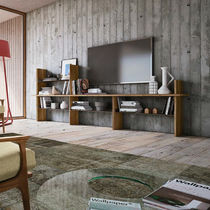 Scaffale basso / moderno / in legno