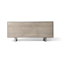 Credenza moderna / in legno / grigia
