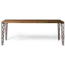 Tavolo rettangolare / indoor / moderno / in metallo