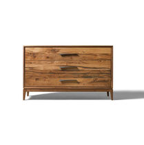 Cassettone moderno / in legno / marrone