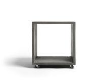 Tavolino basso / moderno / in calcestruzzo / rettangolare