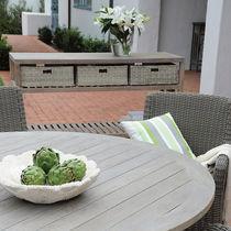 Scaffale classico / in teak / professionale / da giardino
