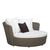 Dormeuse classico / in alluminio / in fibre sintetiche / da giardino