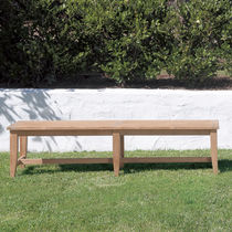Panca da giardino / classica / in teak