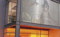 Rivestimento di facciata in lamiera / perforato / in pannelli