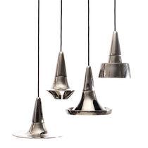Lampada a sospensione / moderna / in bronzo / in ceramica