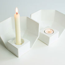 Portacandela in ceramica