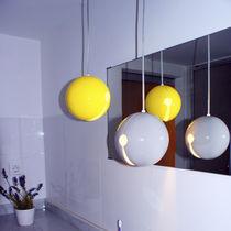 Lampada a sospensione / moderna / in ceramica / da bagno