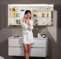 Mobile pensile per bagno con specchio