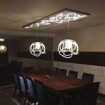 Lampada sospesa / design originale / in metallo / da interno