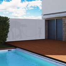 Pannello decorativo di protezione / in alluminio / in acciaio / da parete
