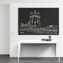 Pannello decorativo in alluminio / da parete / leggero / ad alta resistenza