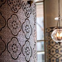 Pannello decorativo in metallo / da parete / per interni / leggero