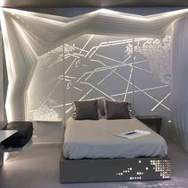 Pannello decorativo di rivestimento / di costruzione / in alluminio / da parete