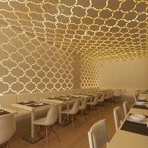 Pannello decorativo di rivestimento / in alluminio / per interni / per controsoffitto