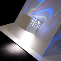 Applique design originale / da esterno / in metallo / LED