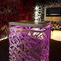 Lampada da terra / design originale / in metallo / da interno