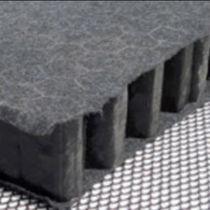 Lastra di ritenzione di acqua piovana per tetti piani / in polipropilene