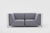 Divano modulare / moderno / in tessuto / di Philippe Nigro