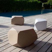Pouf moderno / in polietilene / luminoso / da giardino