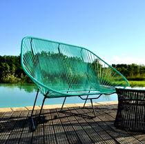 Divano moderno / da giardino / per yacht / per piscina