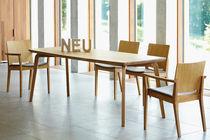 Tavolo moderno / in quercia / rettangolare