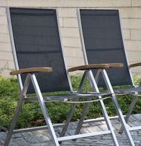 Sedia moderna / con braccioli / pieghevole / in Batyline®
