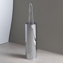 Scopino per WC in cromo / in ottone / da pavimento