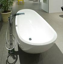 Vasca da bagno da appoggio / ovale / in Pietraluce®