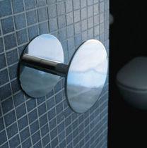 Appendiabiti da parete moderno / in ottone / in metallo cromato / quadruplo