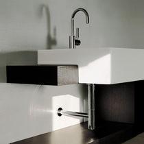 Lavabo da semincasso / rettangolare / in ceramica / moderno