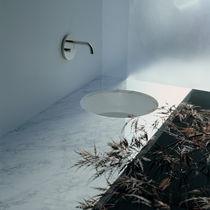 Lavabo sottopiano / rotondo / in ceramica / moderno