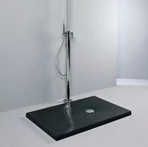 Piatto doccia rettangolare / in ceramica / rasoterra / ultrapiatto