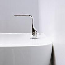 Miscelatore per lavabo / in metallo cromato / in ottone / da bagno