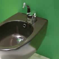 Miscelatore per bidet / in metallo cromato / in ottone / da bagno