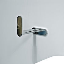 Distributore di carta igienica da parete / in ottone / in cromo
