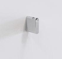 Appendiabiti da parete moderno / in ottone / in metallo cromato / da bagno