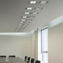 Luce da incasso a soffitto / LED / quadrata / rettangolare
