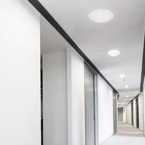 Luce LED / rotonda / in acciaio / in PMMA