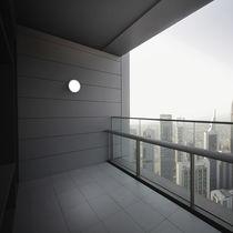 Applique moderna / da esterno / in alluminio / in acrilico