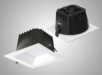 Downlight da incasso / LED / quadrato / in policarbonato