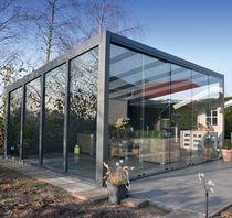Veranda autoportante / in alluminio / tuttovetro