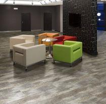 Pavimento in PVC / professionale / residenziale / a doghe