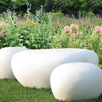 Panca da giardino / design originale / in fibrocemento