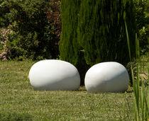 Pouf design originale / in fibrocemento / da giardino / da esterno